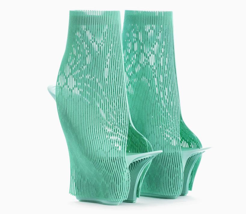 Туфли, напечатанные 3D принтером