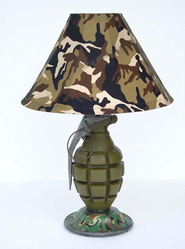 стиль милитари светильник