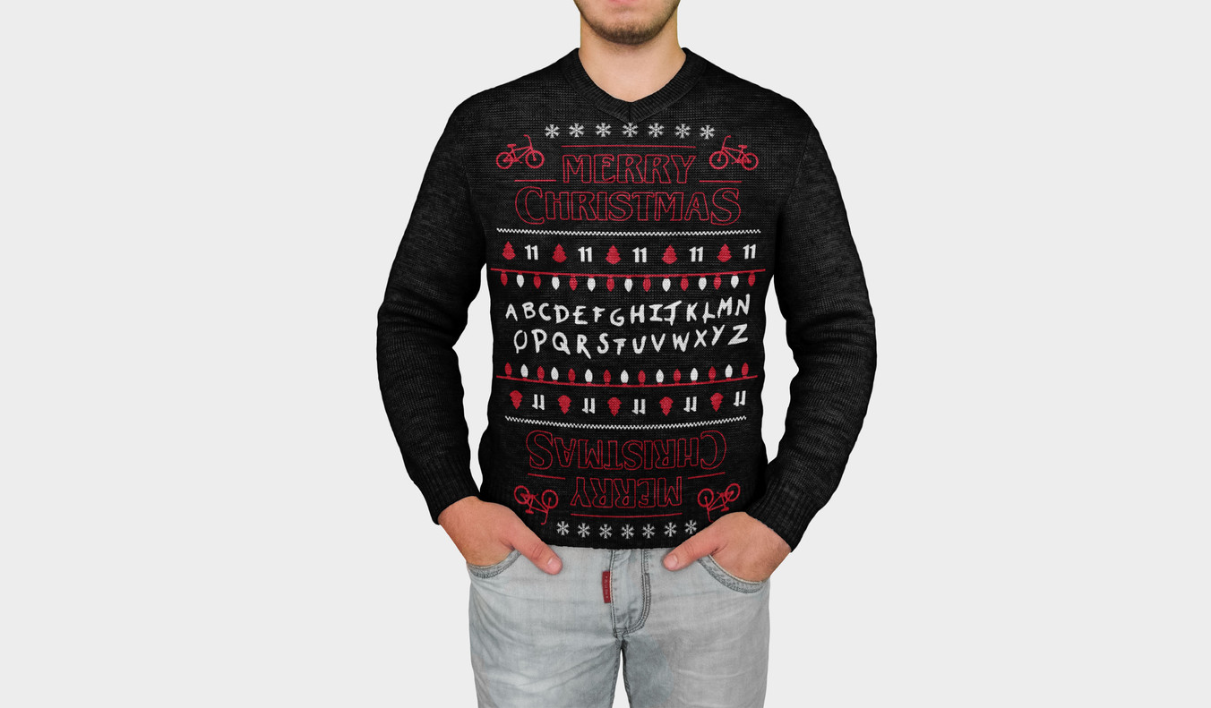 Stranger-Things-Merry-Christmas-sweater-