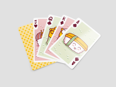 Playing Cards - Sushi Edition