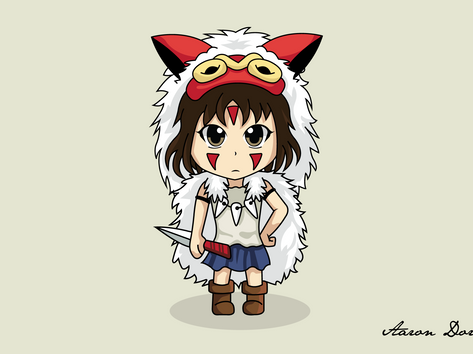 Anime Character Vector Illustrations