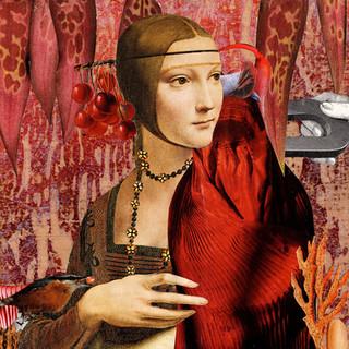 La dame rouge sans l'hermine