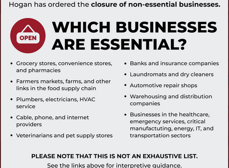WE ARE AN ESSENTIAL BUSINESS