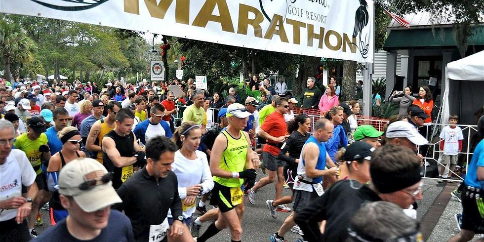Kiawah Marathon Finish Line Party