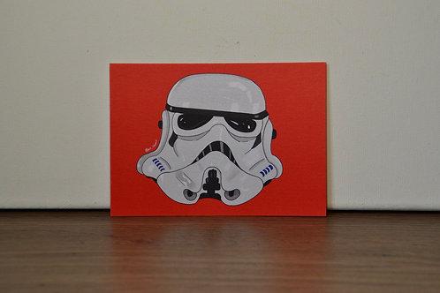 Stormtrooper A6 Print