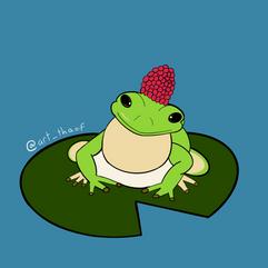 Froggo in a Hat - 2020