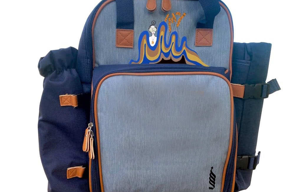 Eliz's Picnic Backpack Ocean