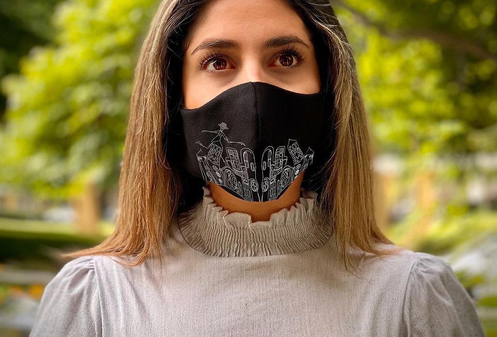 Black Face Mask (Rush)