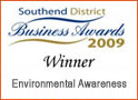 Southend on Sea Environmental business awards 2009