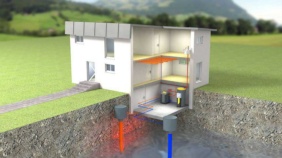 Ground Source Heat Pump Bore Holes