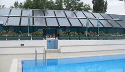 Large Solar Thermal Arrays