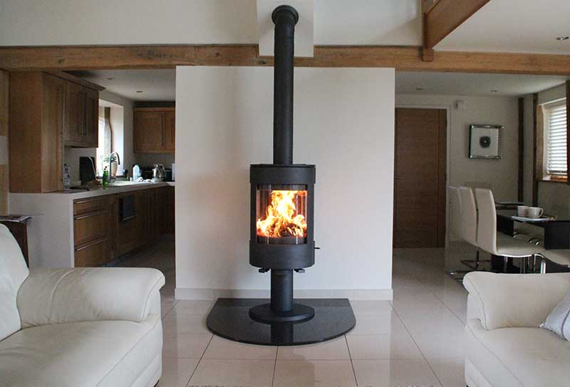 Modern Wood Burning Stoves