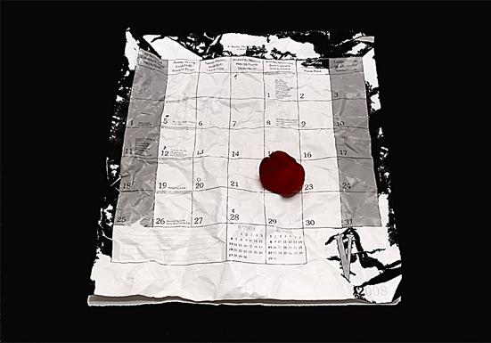 El calendario marcado