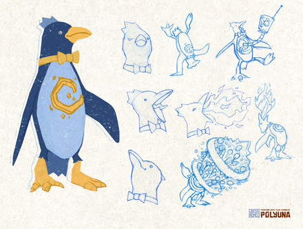 Penguino Concept Sheet