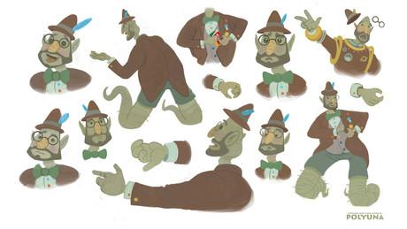 Professor character sheet