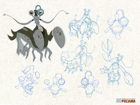 Shrimpy Narlax (Prof Prawndu) Concept Sheet
