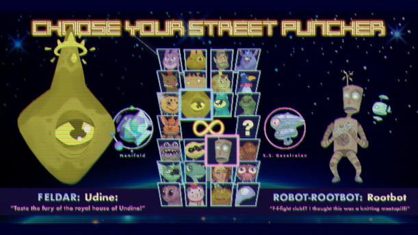 ᕦ(ò_óˇ)ᕤ Ultimate Battle Fight Character select screen