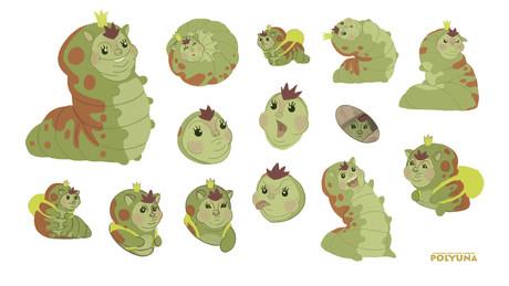 Larva Character sheet
