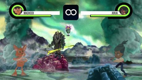 (┛◉Д◉)┛Fighting game background prototype