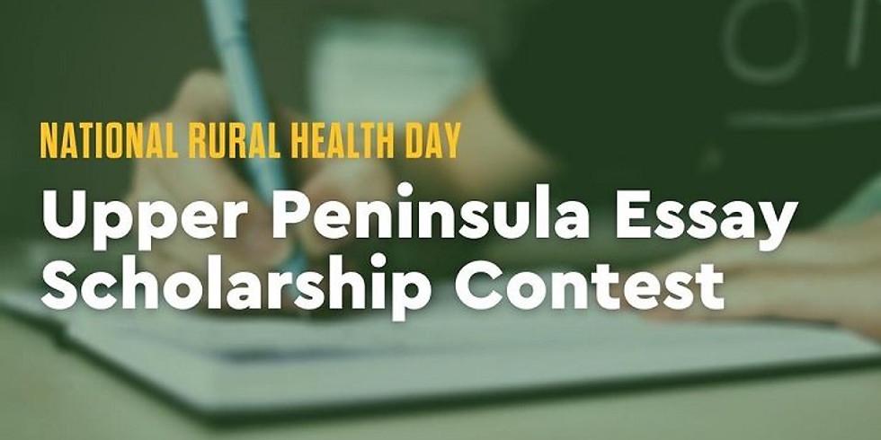 National Rural Health Day Upper Peninsula Essay Scholarship Contest