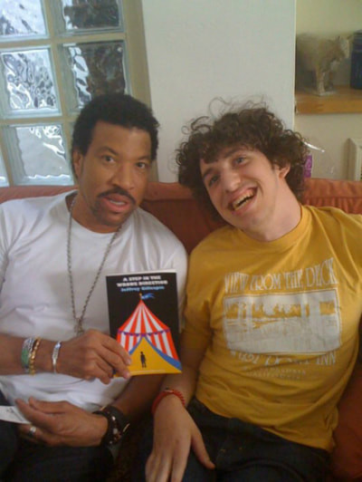 Me with Lionel Richie