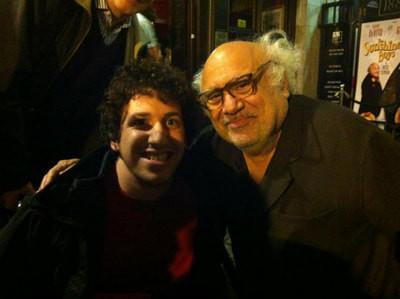 Me with Danny Devito