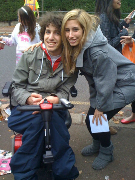 Me with Stacey Solomon