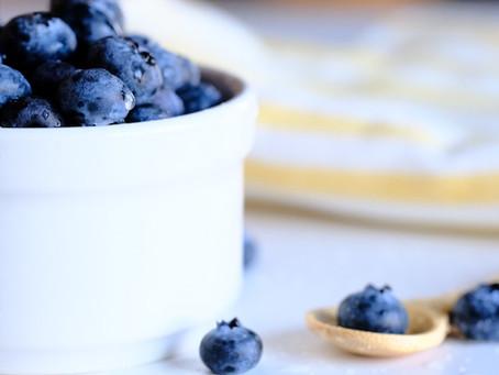 Finnish Blueberry Puff