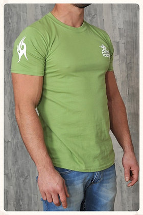 Men's Crew Neck T-shirt - Kiwi (D26)