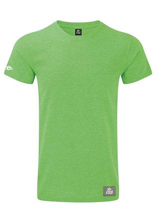 Men's Patch Marl T-shirt - Green Marl (D52)