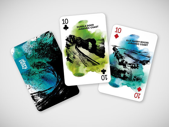 'The Coast Pack' Playing Cards