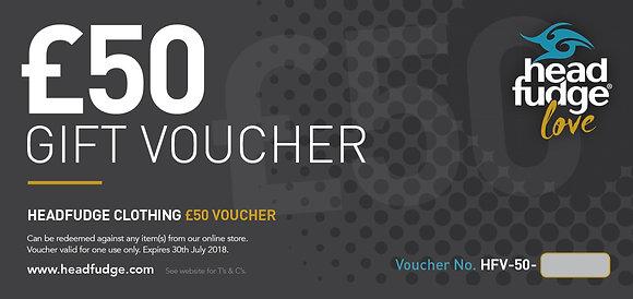 £50 Headfudge Gift Voucher