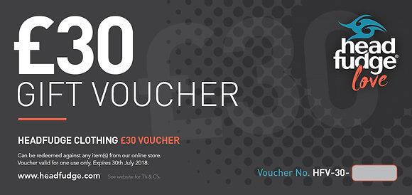 £30 Headfudge Gift Voucher