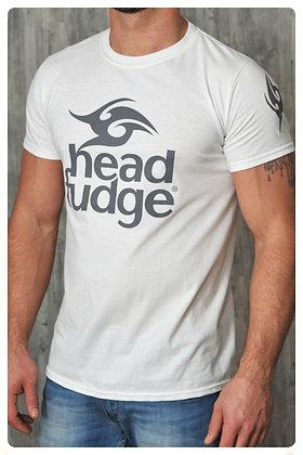 Men's Logo Crew Neck T-shirt - White (D02)