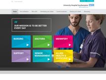 NHS UHS Careers website