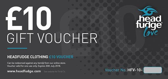 £10 Headfudge Gift Voucher