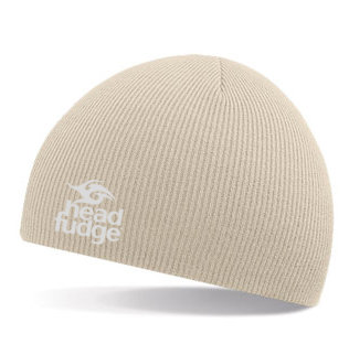 Knitted Beanie - Stone (D18)