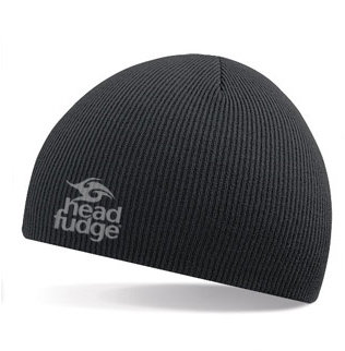 Knitted Beanie - Black (D18)