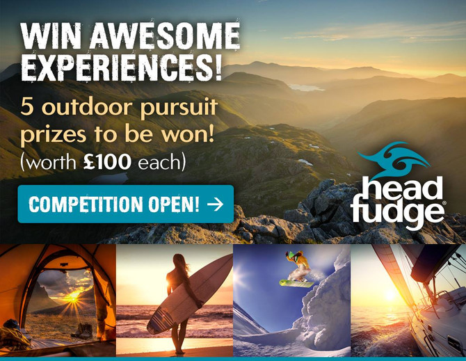 WIN awesome experiences on us! Headfudge competition now open