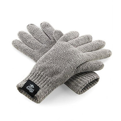 Headfudge Thinsulate™ Lined Gloves - Grey Heather (D33)