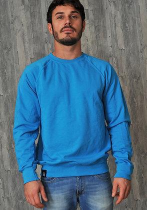Men's Lightweight Sweatshirt - Azure (D28)