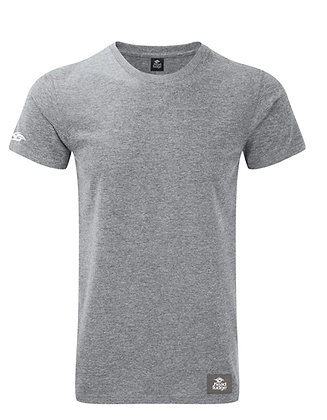 Men's Patch Marl T-shirt - Grey Marl (D52)