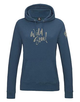 Women's 'Wild Soul' Hoodie - Airforce (D32)