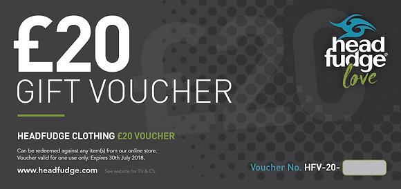 £20 Headfudge Gift Voucher