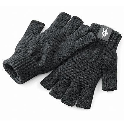 Men's Fingerless Gloves - CHARCOAL (D61)