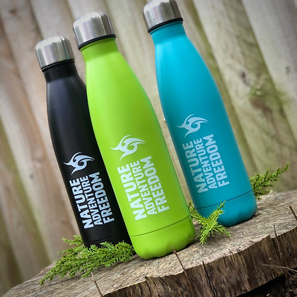 Headfudge 500ml Stainless Steel Insulated Water Bottles
