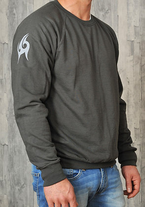 Men's Lightweight Sweatshirt - Graphite (D28)