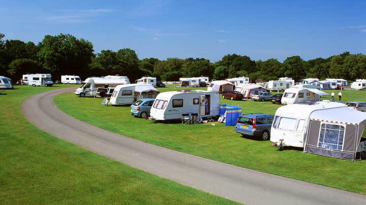 Black Knowl Caravan Club Campsite