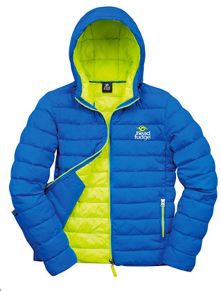 Women's Urban Snow Padded Jacket - Blue/Lime (D29)