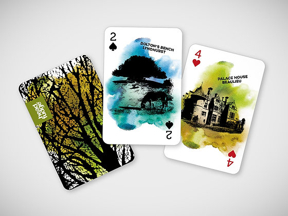 'The Forest Pack' Playing Cards
